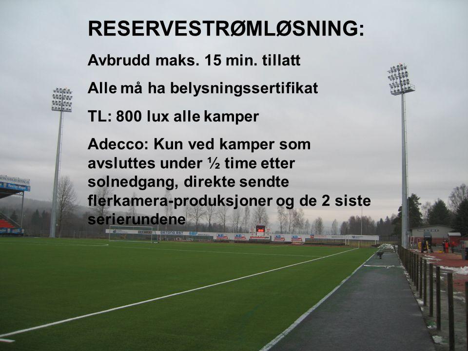 RESERVESTRØMLØSNING: