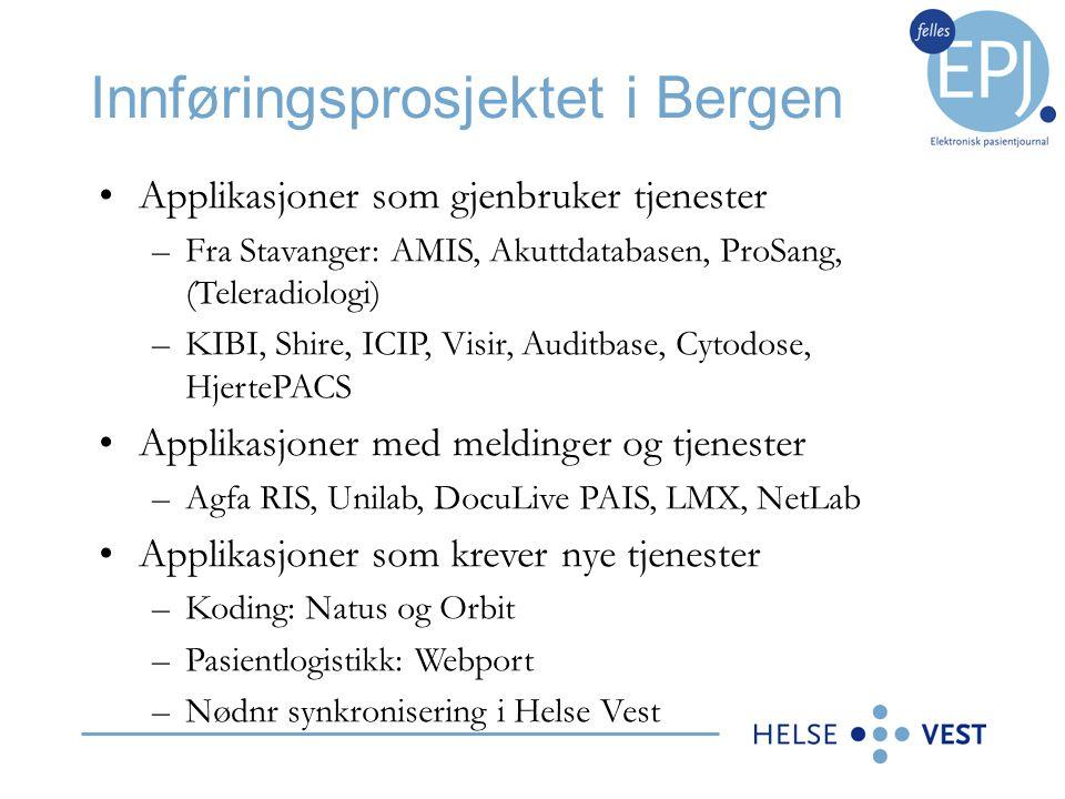 Innføringsprosjektet i Bergen