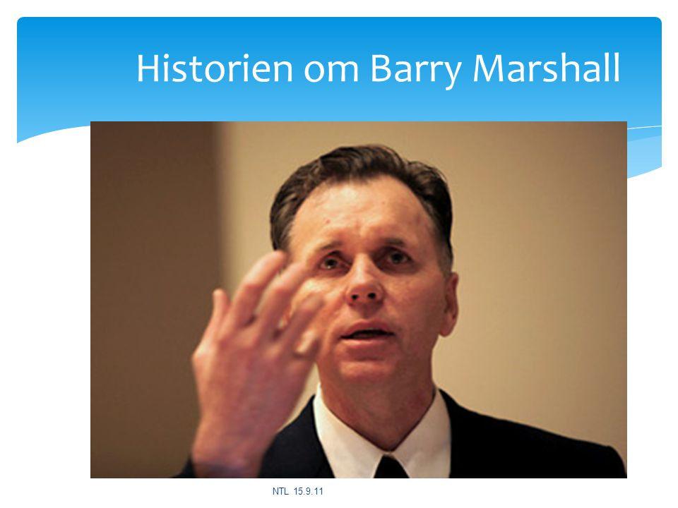 Historien om Barry Marshall