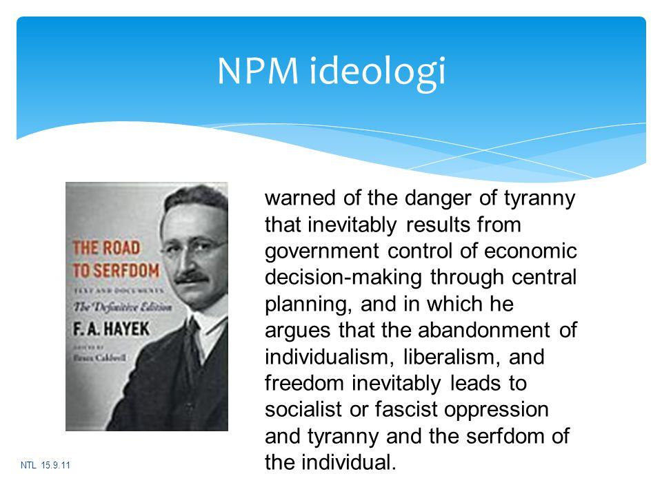 NPM ideologi