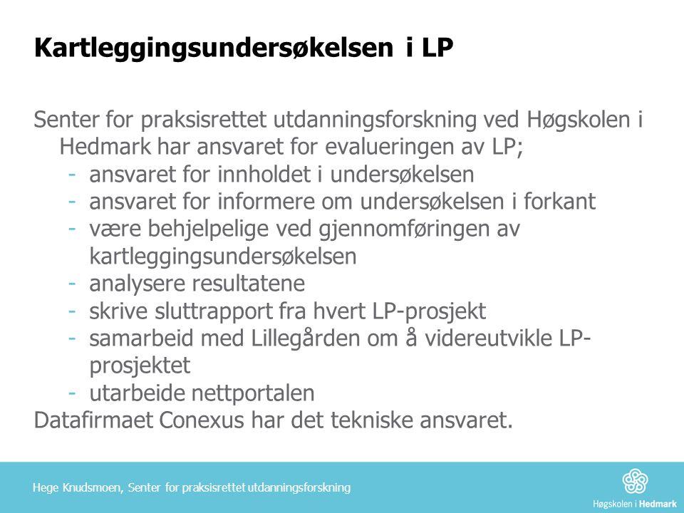 Kartleggingsundersøkelsen i LP