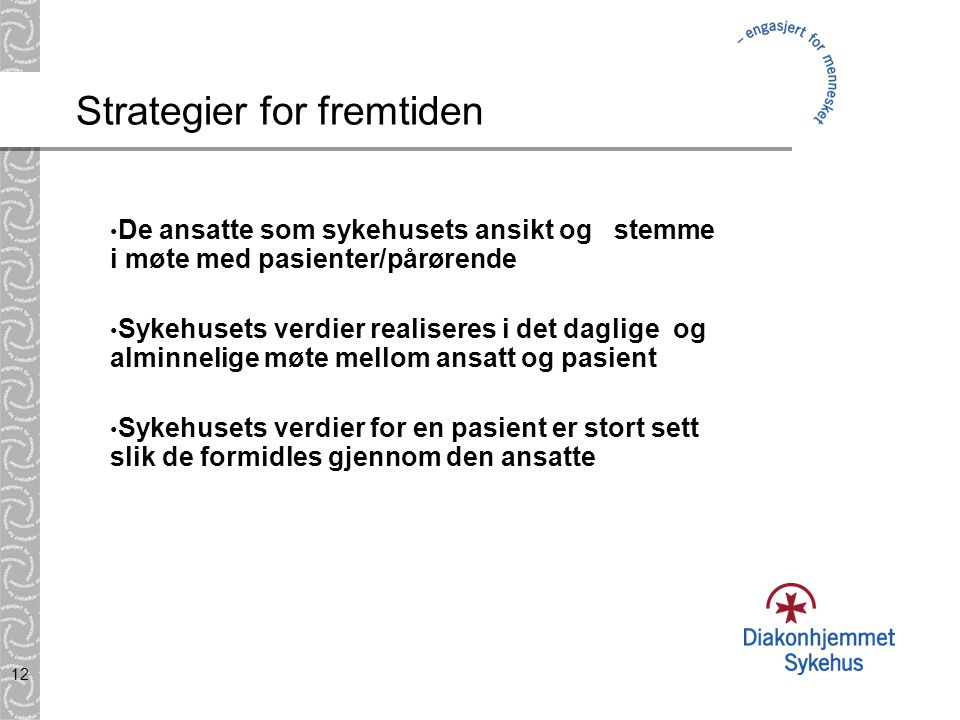 Strategier for fremtiden