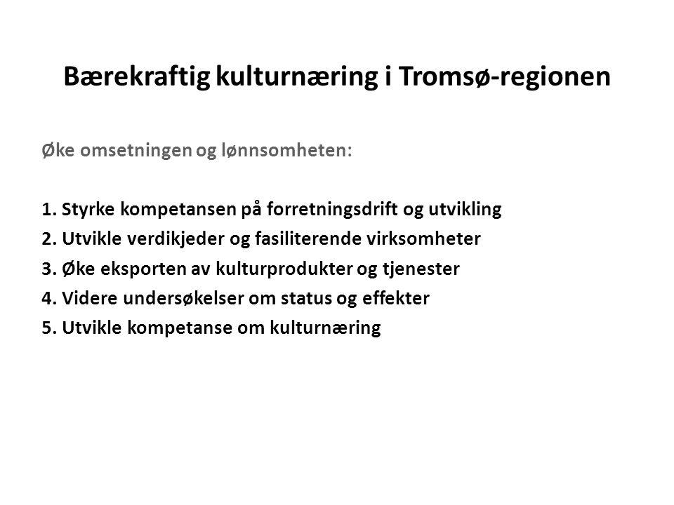 Bærekraftig kulturnæring i Tromsø-regionen