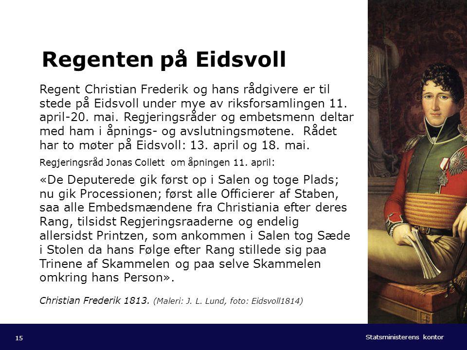 Regenten på Eidsvoll