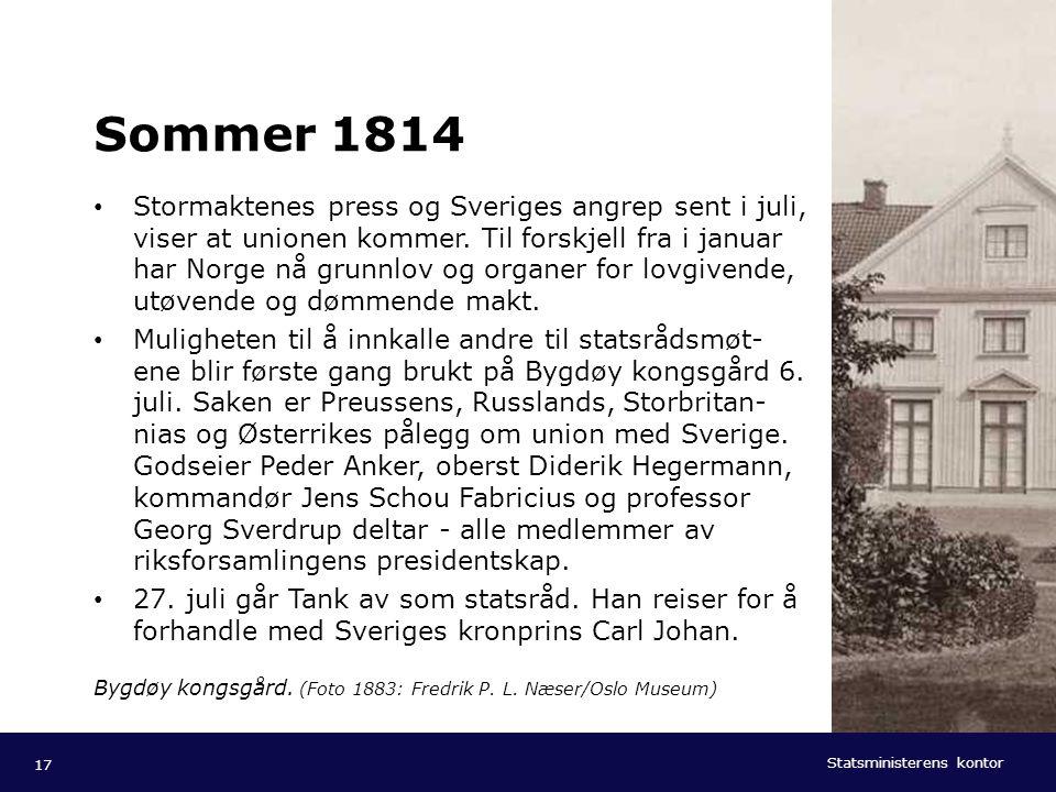 Sommer 1814
