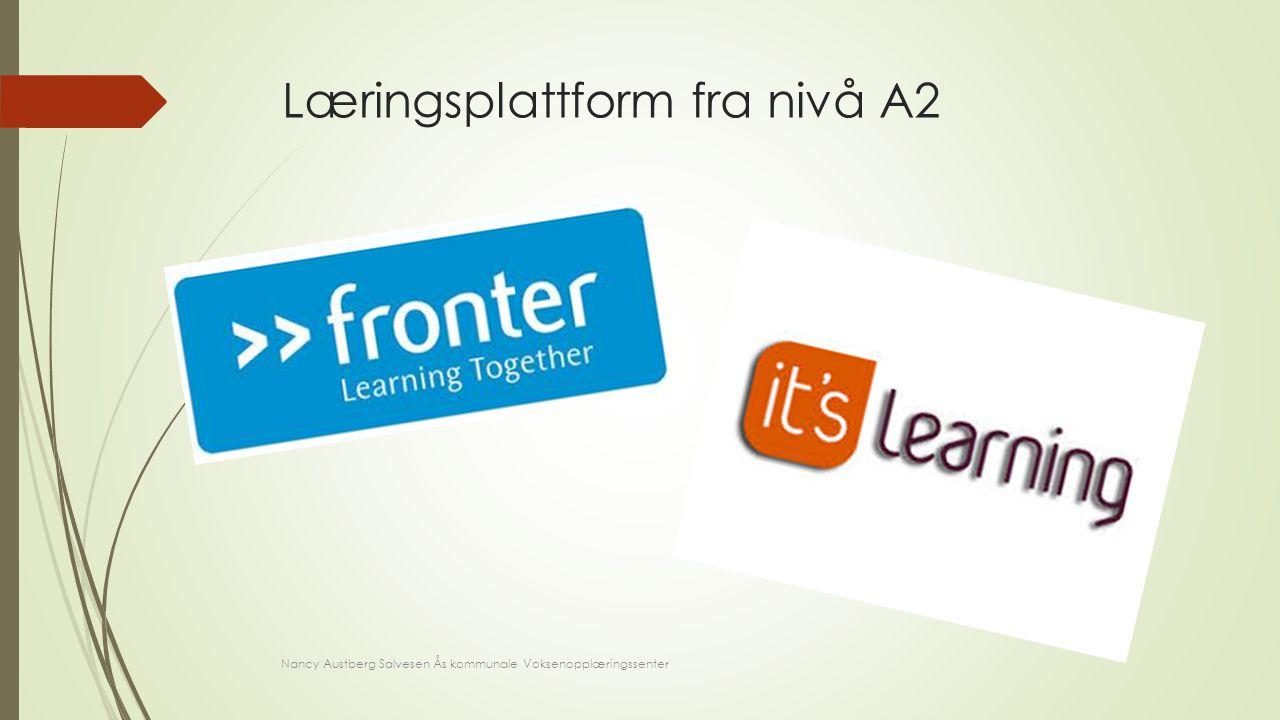 Læringsplattform fra nivå A2