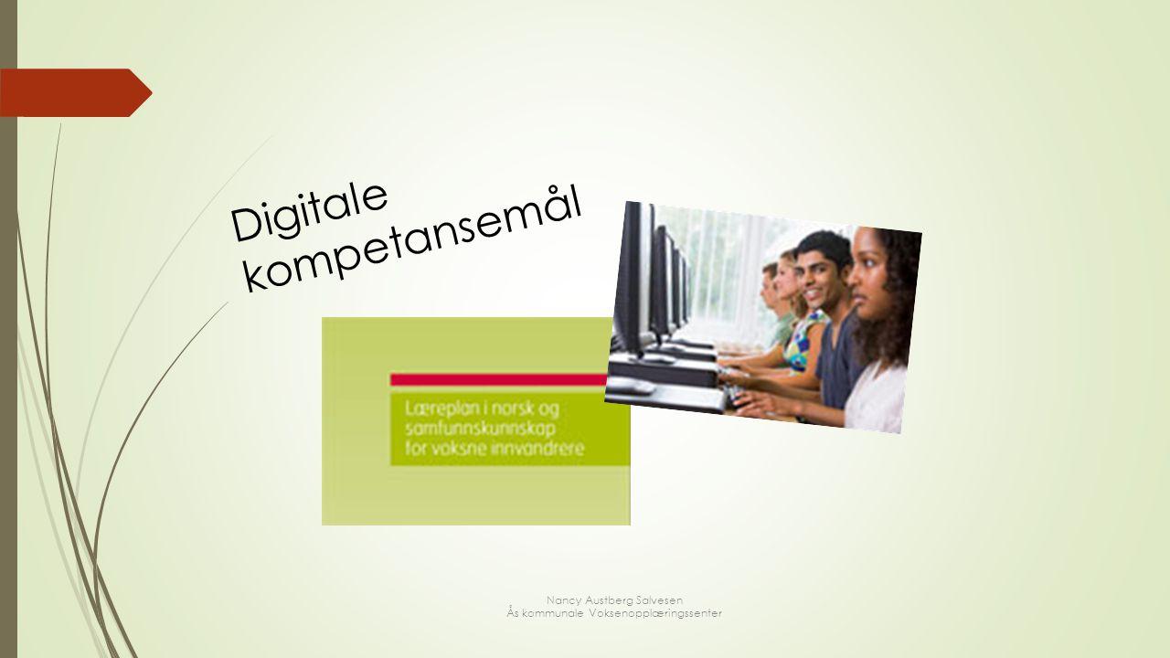 Digitale kompetansemål