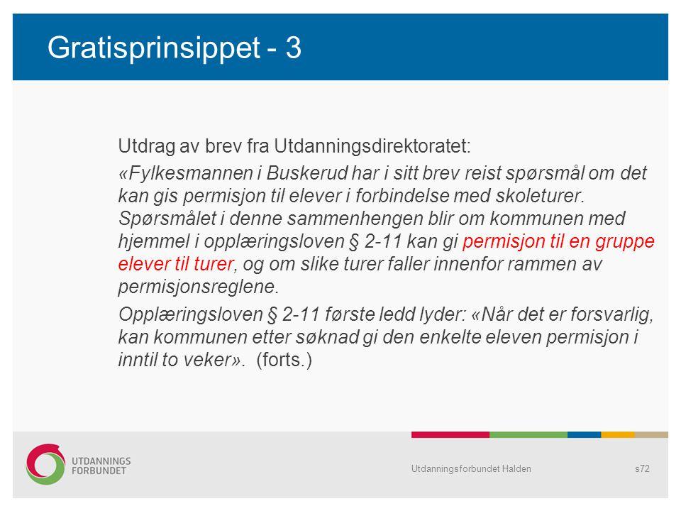 Gratisprinsippet - 3