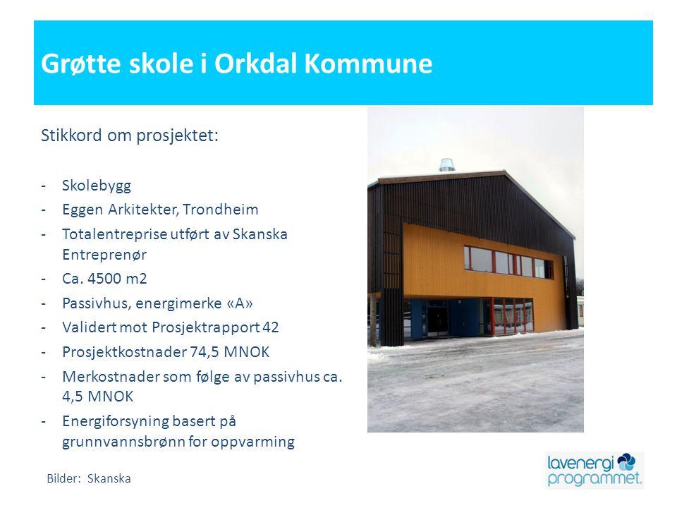 Grøtte skole i Orkdal Kommune