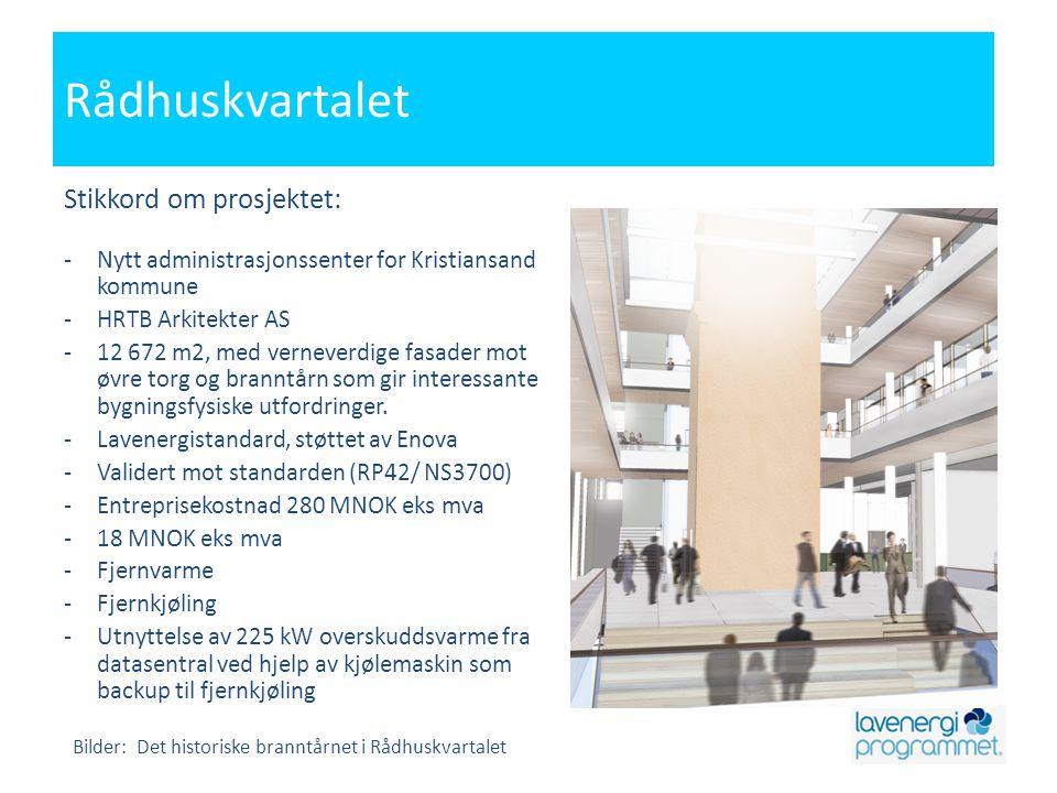 Rådhuskvartalet Stikkord om prosjektet: