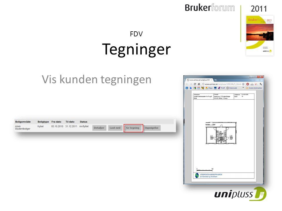 FDV Tegninger Vis kunden tegningen