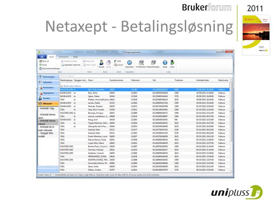 Netaxept - Betalingsløsning