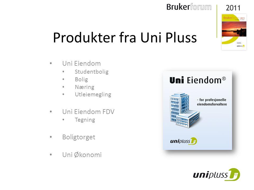 Produkter fra Uni Pluss