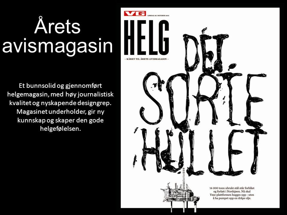 Årets avismagasin.