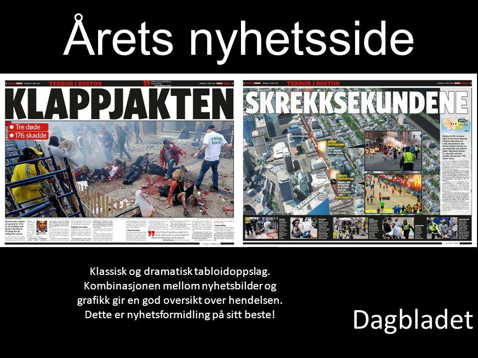 Årets nyhetsside Dagbladet