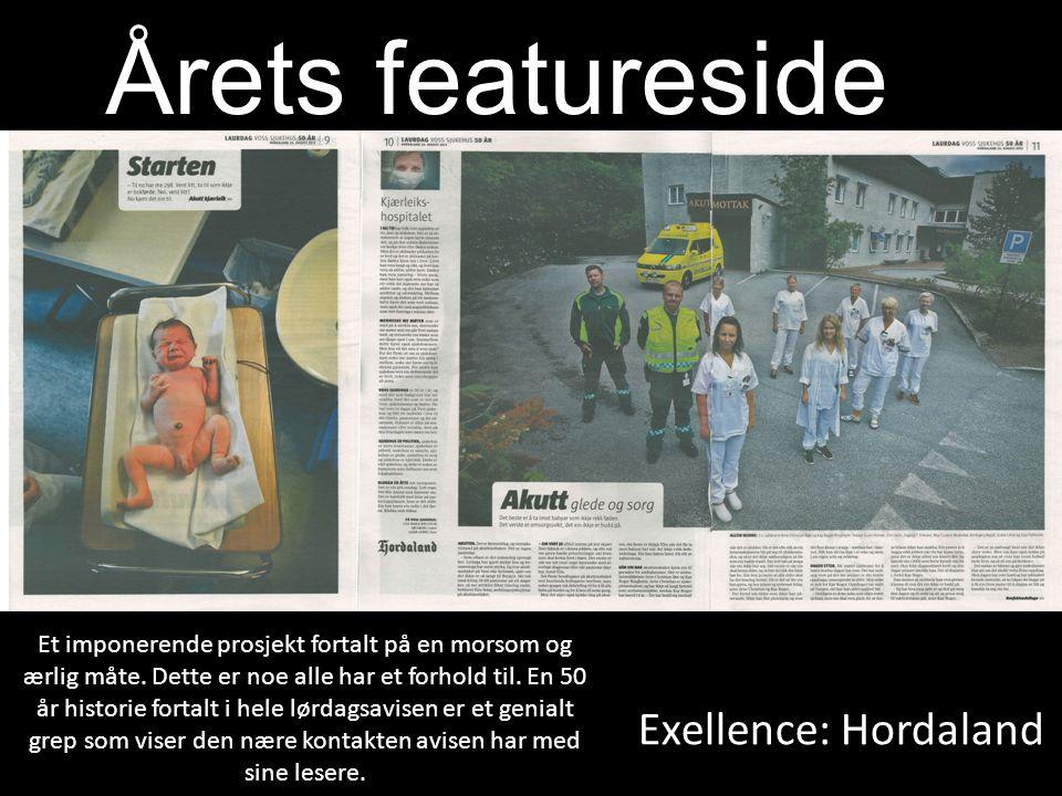 Årets featureside Exellence: Hordaland