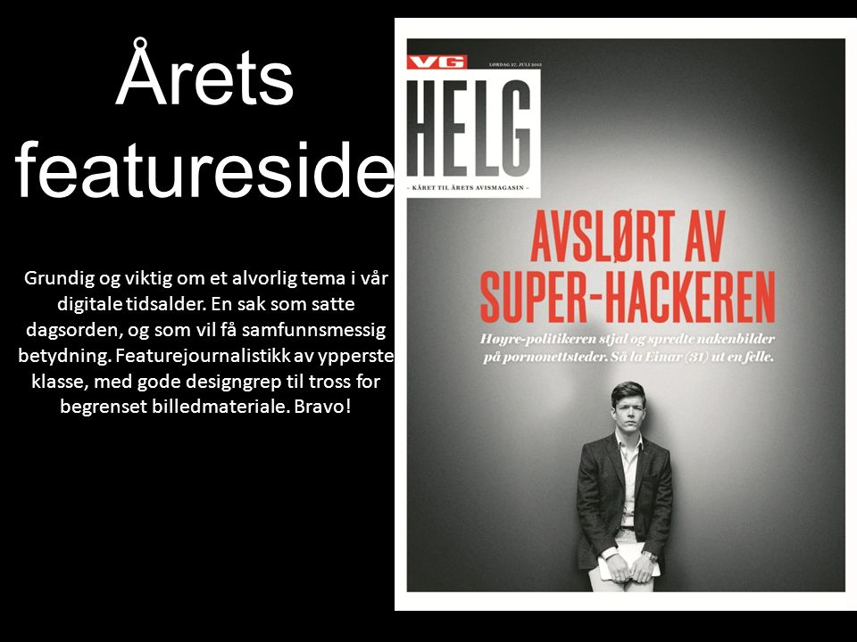 Årets featureside