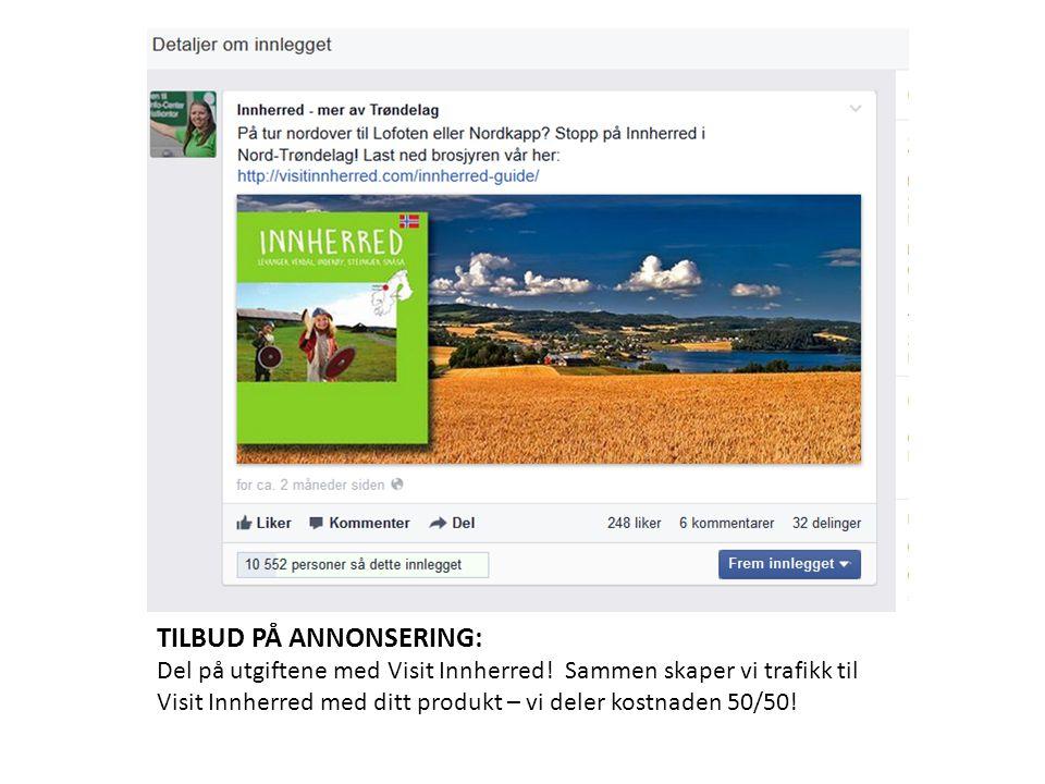 TILBUD PÅ ANNONSERING: