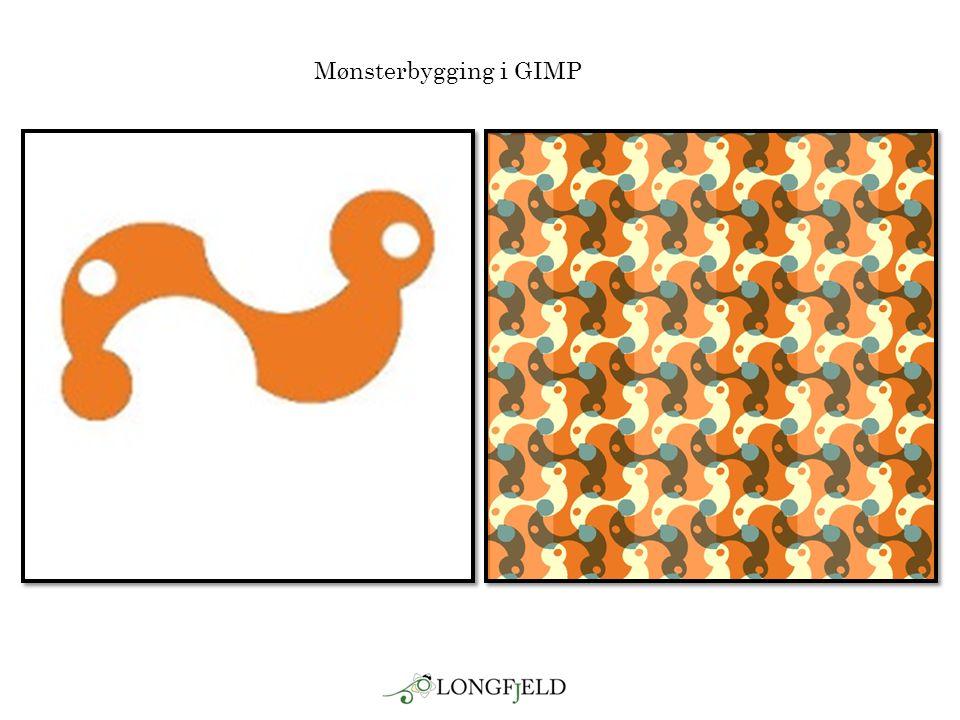 Mønsterbygging i GIMP