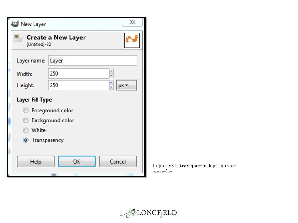 Lag et nytt transparent lag i samme størrelse