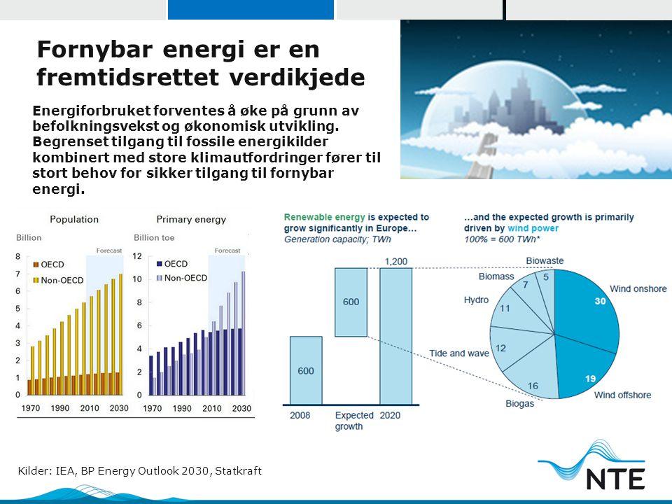 Fornybar energi er en fremtidsrettet verdikjede