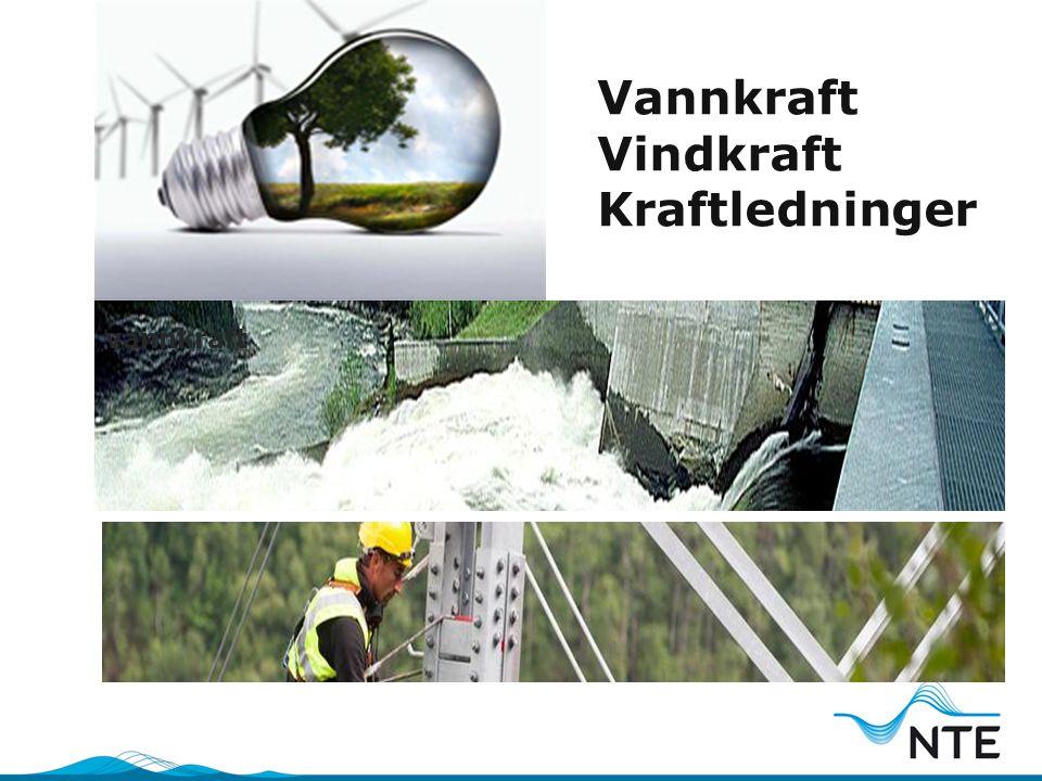 Vannkraft Vindkraft Kraftledninger