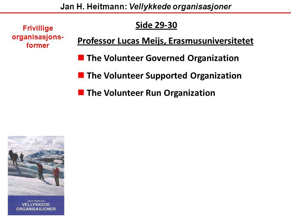 Professor Lucas Meijs, Erasmusuniversitetet
