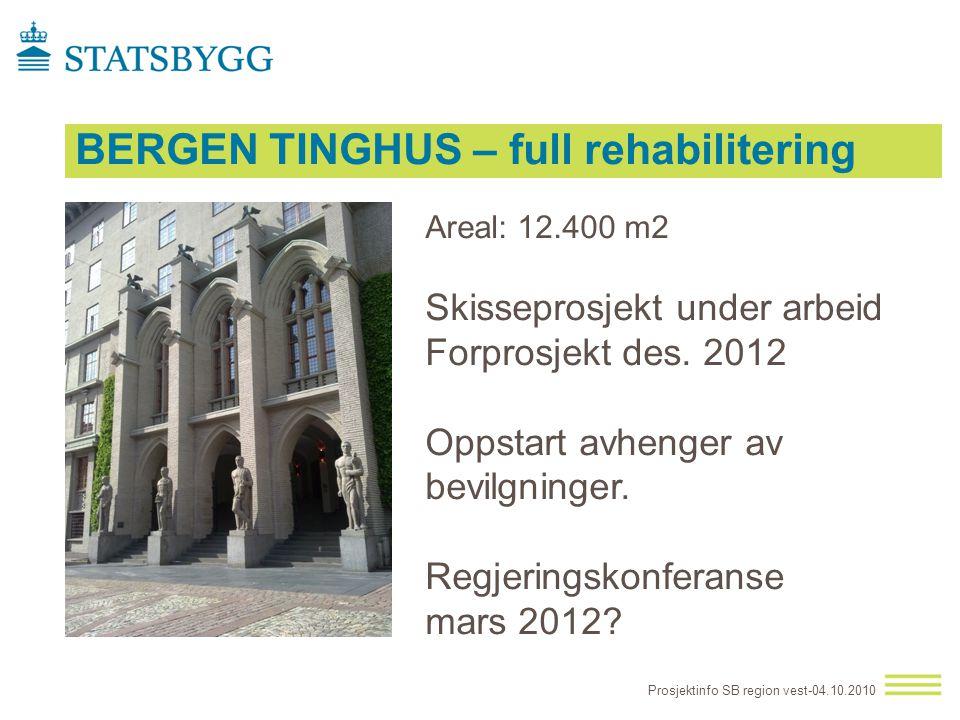BERGEN TINGHUS – full rehabilitering