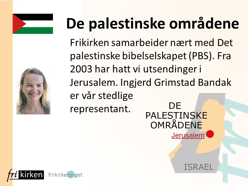De palestinske områdene