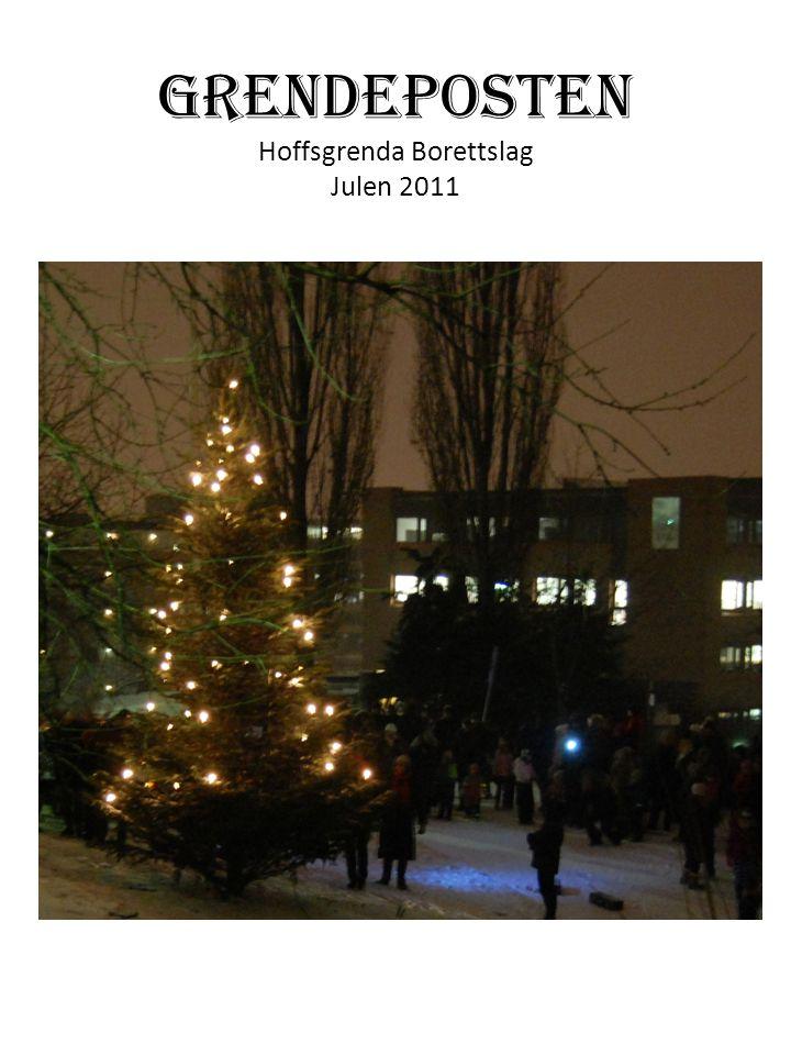 GRENDEPOSTEN Hoffsgrenda Borettslag Julen 2011