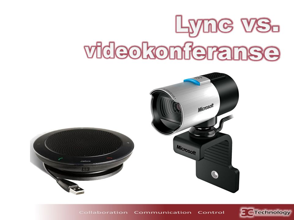 Lync vs. videokonferanse