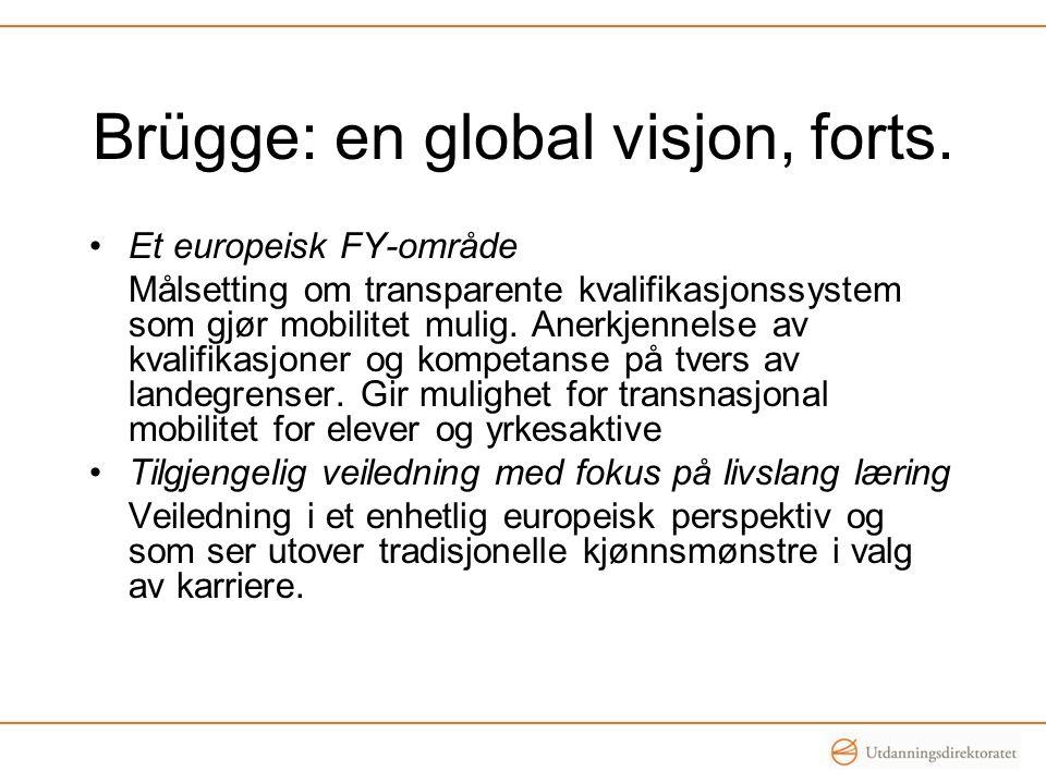 Brügge: en global visjon, forts.