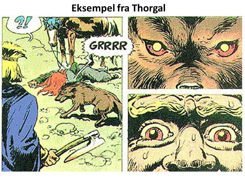 Eksempel fra Thorgal