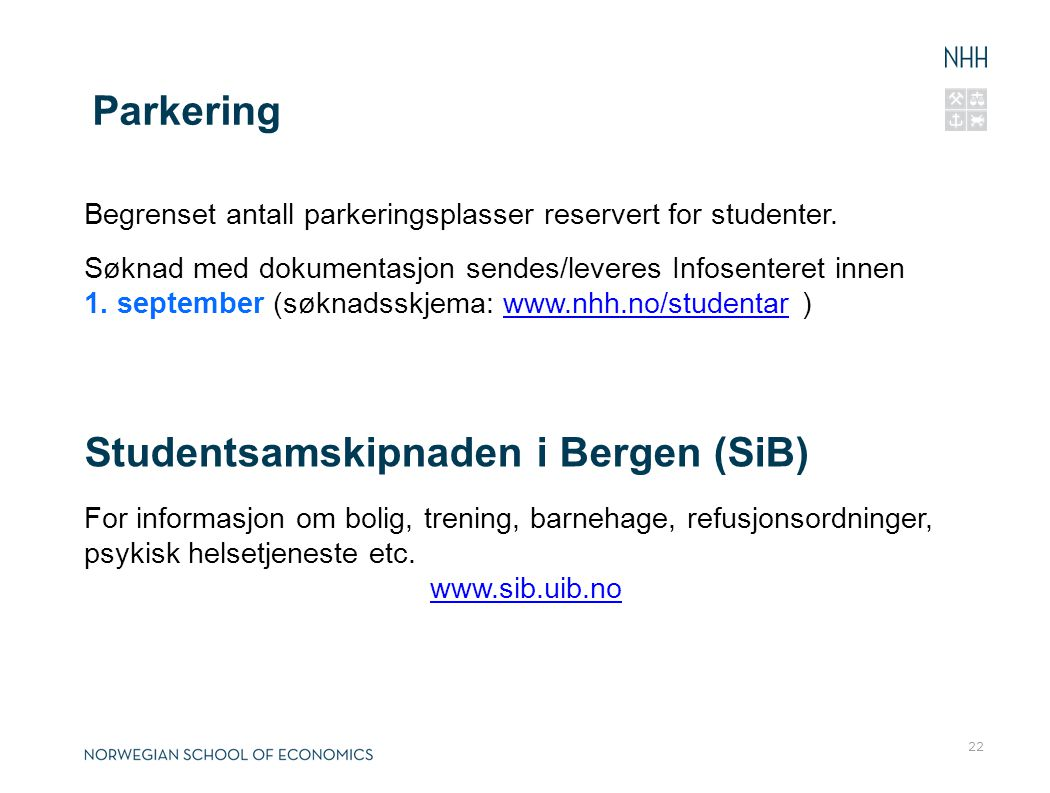 Studentsamskipnaden i Bergen (SiB)