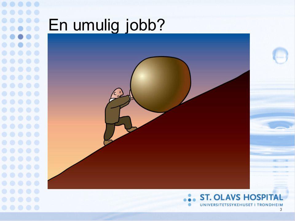 En umulig jobb