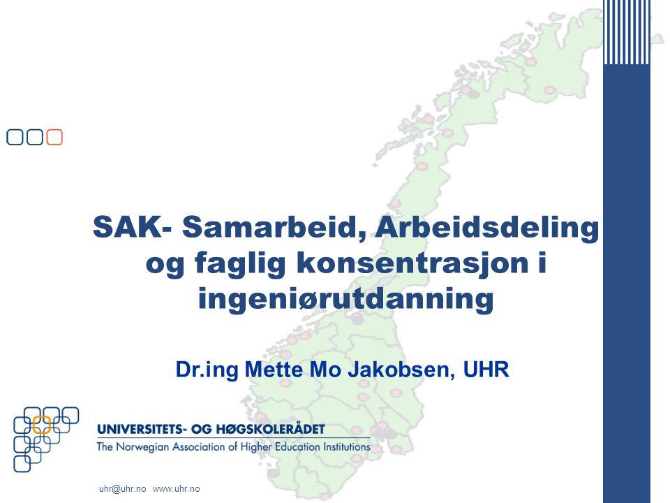 Dr.ing Mette Mo Jakobsen, UHR