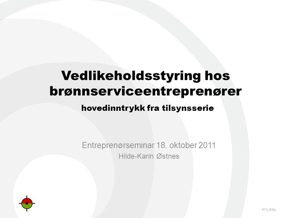 Entreprenørseminar 18. oktober 2011 Hilde-Karin Østnes
