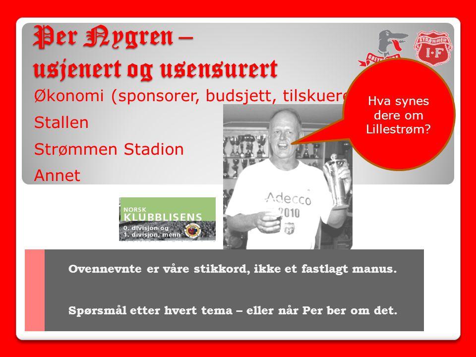 Per Nygren – usjenert og usensurert