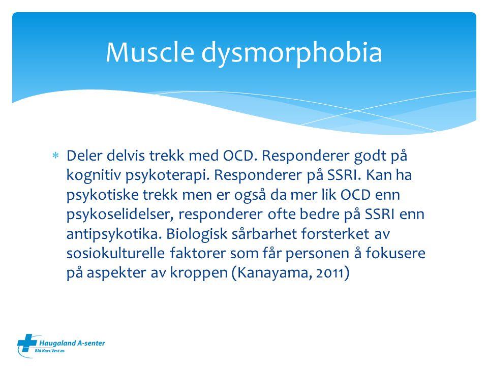 Muscle dysmorphobia