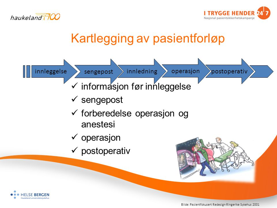 Kartlegging av pasientforløp