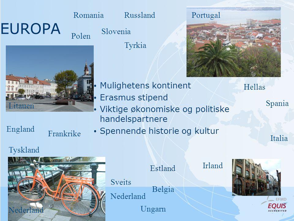 EUROPA Romania Russland Portugal Slovenia Polen Tyrkia