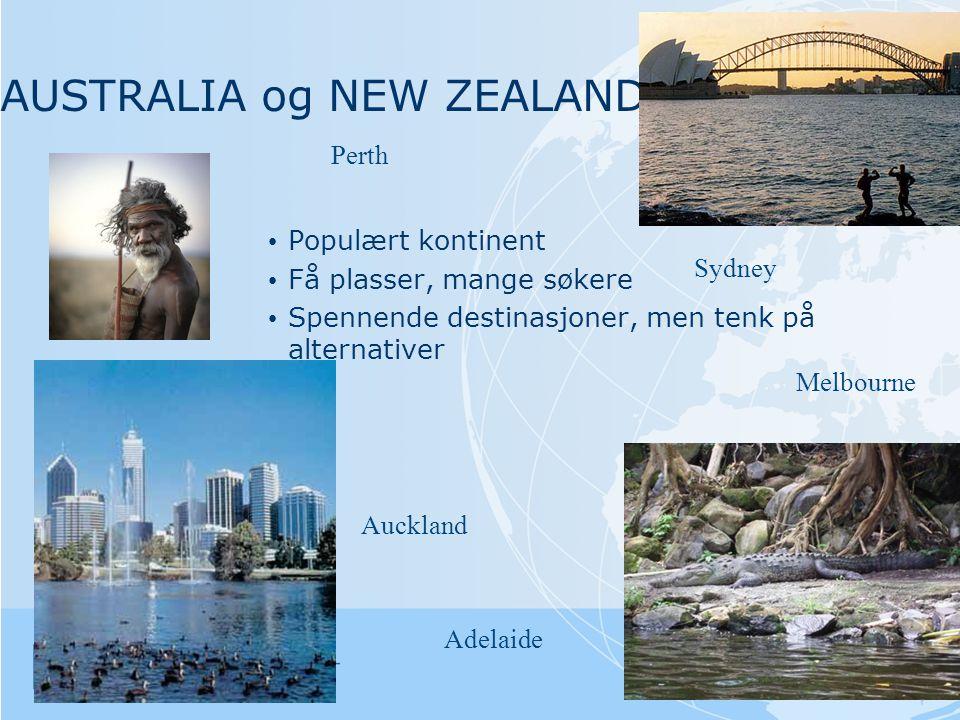 AUSTRALIA og NEW ZEALAND