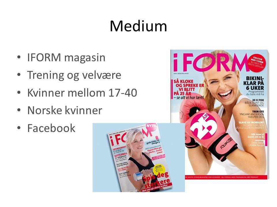 Medium IFORM magasin Trening og velvære Kvinner mellom 17-40