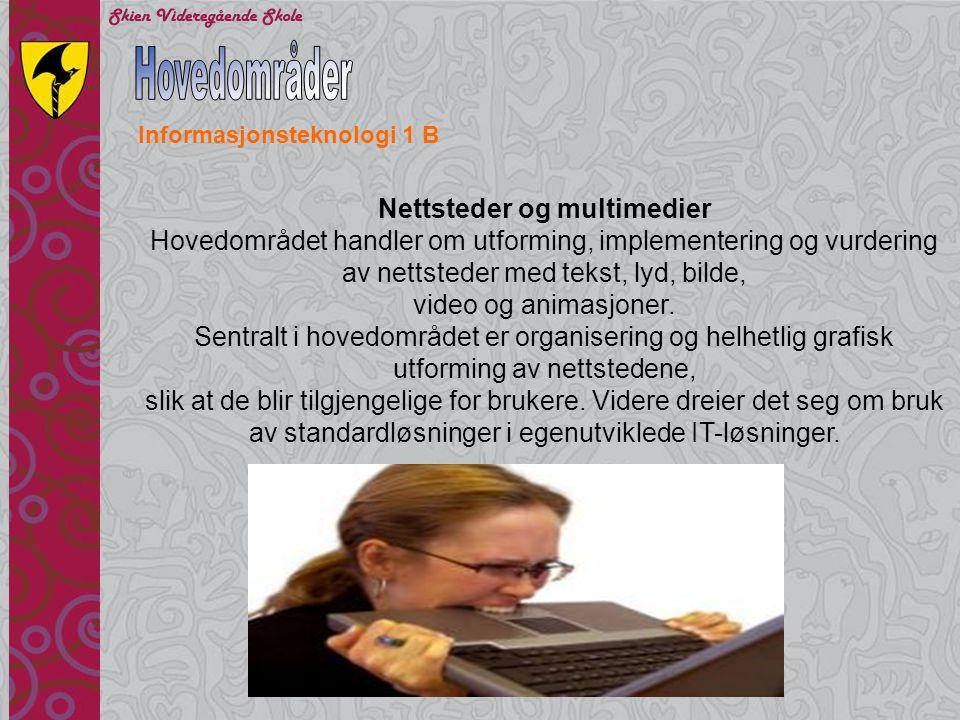 Nettsteder og multimedier