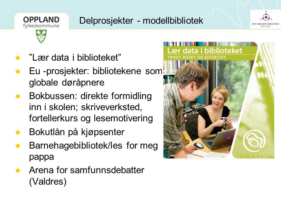 Delprosjekter - modellbibliotek