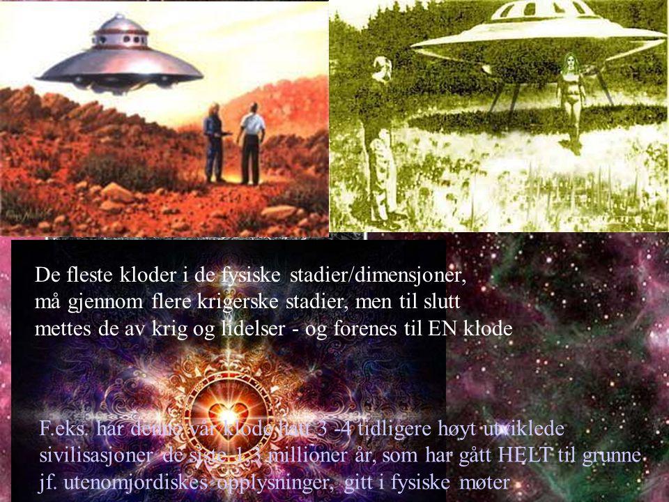 PLANETÆR OPPVÅKNING I begynnelsen av en planets