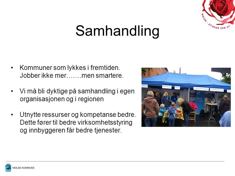 Samhandling Kommuner som lykkes i fremtiden.