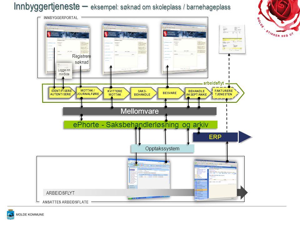 ePhorte - Saksbehandlerløsning og arkiv
