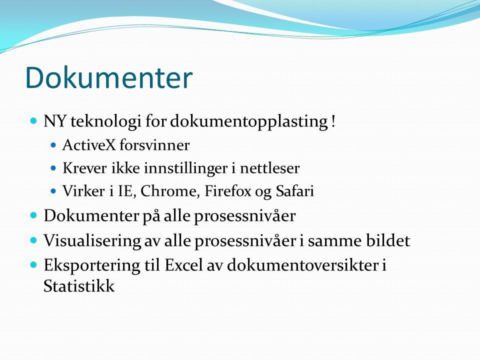Dokumenter NY teknologi for dokumentopplasting !