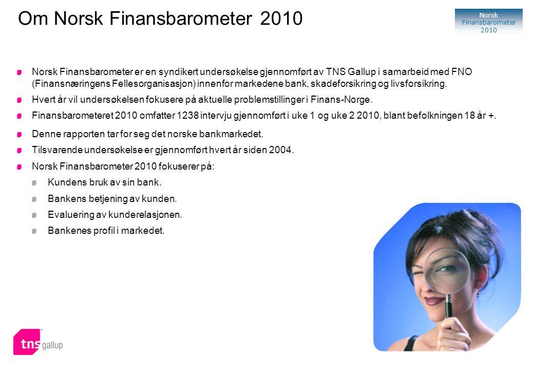 Om Norsk Finansbarometer 2010